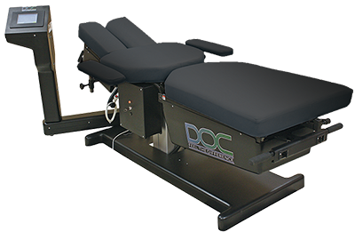 DOC Cervical and Lumbar Spinal Decompression Table